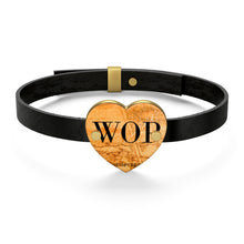 Load image into Gallery viewer, WOP Leather Bracelet