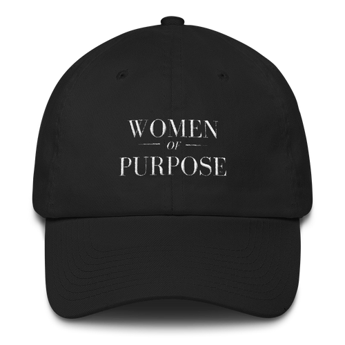 Women of Purpose Embroidered Cap