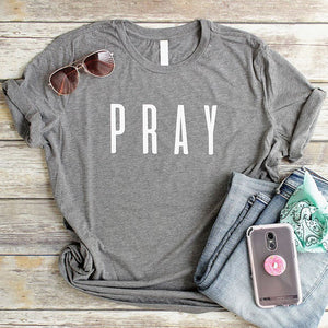 Pray Christian T Shirt