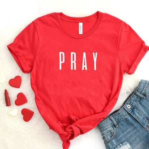 Pray Christian T Shirt - Higgins Publishing