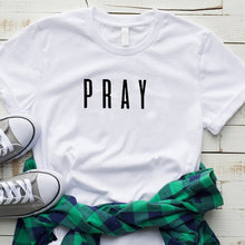 Load image into Gallery viewer, Pray Christian T Shirt - Higgins Publishing