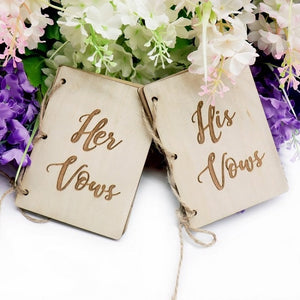 His and Her Vow Books