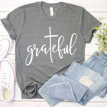Load image into Gallery viewer, Grateful Christian T-shirt - Higgins Publishing