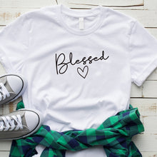 Load image into Gallery viewer, Blessed T-shirt - Higgins Publishing