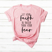 Load image into Gallery viewer, Let Your Faith Be Bigger Christian T-Shirt - Higgins Publishing