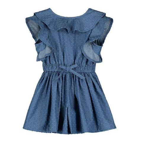 Sandy Romper: Chambray