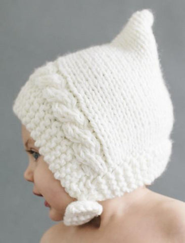 Greta Pixie Hat Cream