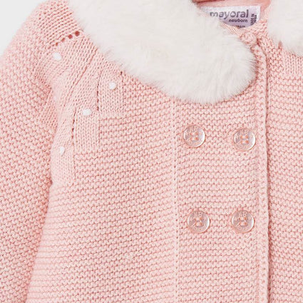 Blush vig Knit coat