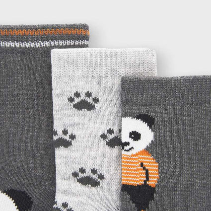 Brg Cement Panda socks set of 3