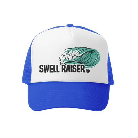 Swell Raiser RYL/WHT Trucker Hat