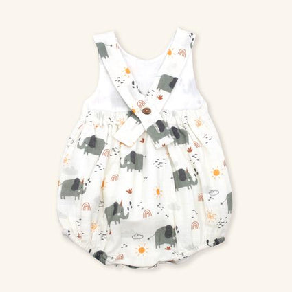 Florence Bloom Peter Pan Collar Short Romper