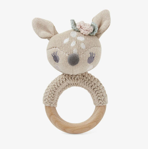 Ring Rattle: Fawn