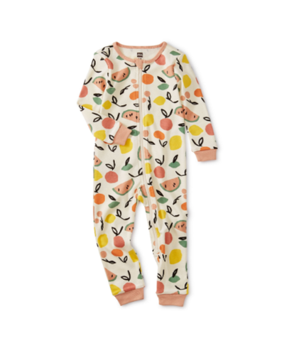 Fruit Long Sleeve Baby Pajamas