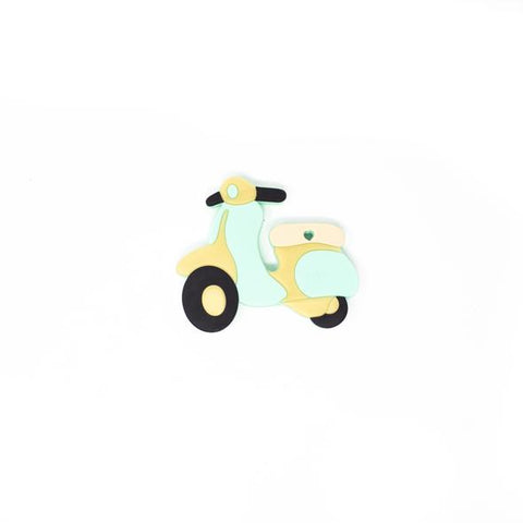 Scooter Silicone Teether - Mint