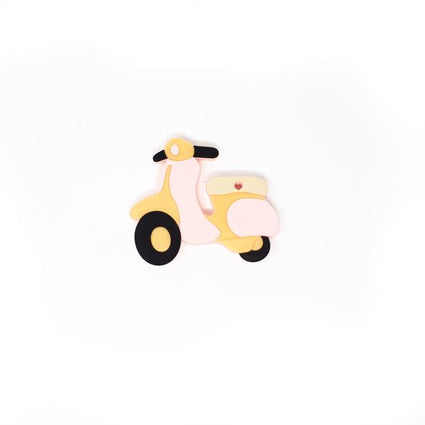 Scooter Silicone Teether - Baby's Breath