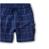 Cargo Baby Shorts: Windowpane
