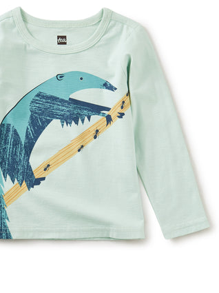 Ambitious Anteater Graphic Tee: Mint Chip