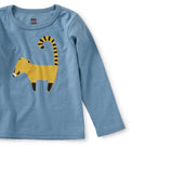 Cool Coati Graphic Tee: AEGEAN BLUE