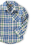 Flannel Baby Shirt: Alpamayo Plaid