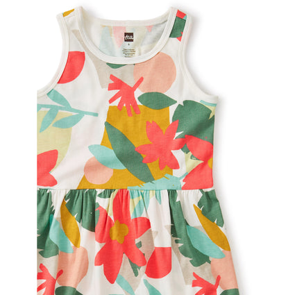 Skirted Tank Dress: Oasis Floral