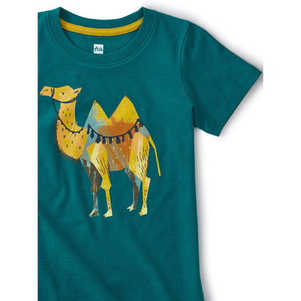 Saddle Up Camel Tee: Scuba