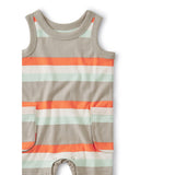 Cargo Pocket Tank Romper: Sunburst