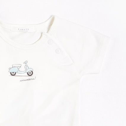FIRSTS Motorino Outfit Set With Organic Cotton (3 pcs.)