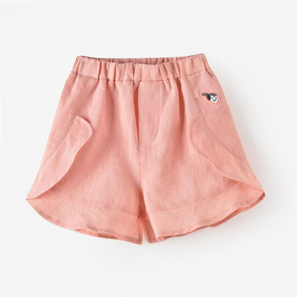 Phoebe Shorts: Peach Pink