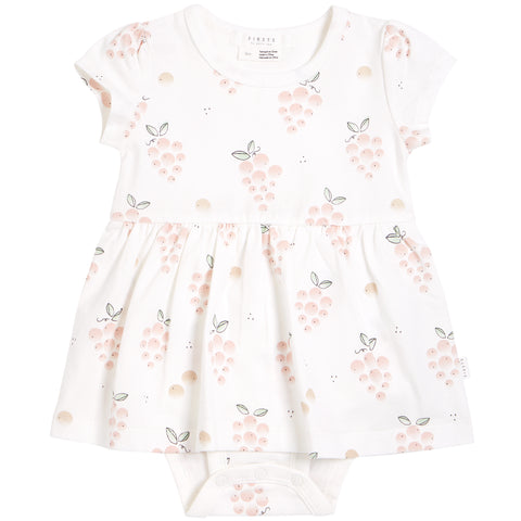 Bunches of Grapes Onesie Dress