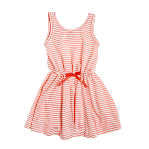 Stripe Tank Dress - Pink
