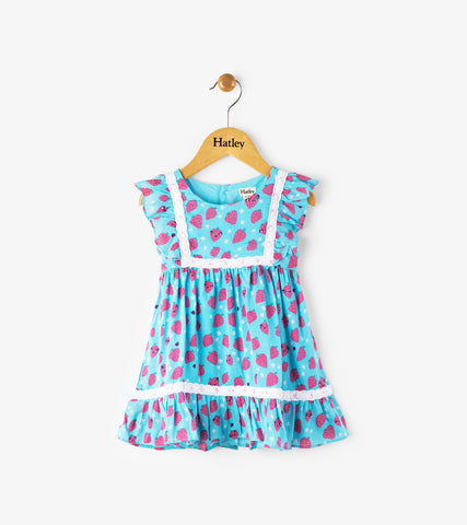 Strawberry Fields Baby Dress
