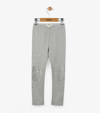 Heather Grey Starburst Legging