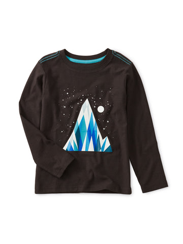 Everest Glow In The Dark Tee: Jet Black