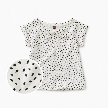 Printed Knotted Baby Top