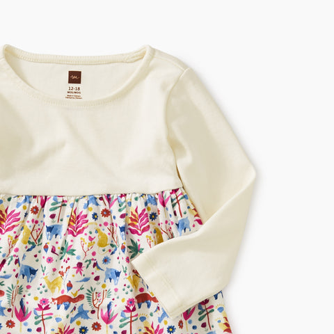 Two-Tone Baby Dress - Mountain Menagerie