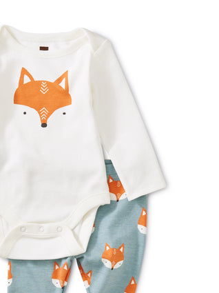 Bodysuit Baby Outfit - Foxes