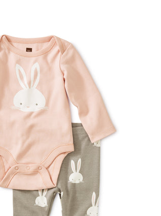 Bodysuit Baby Outfit - Bunnies