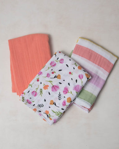 Cabana Stripe Swaddle Set