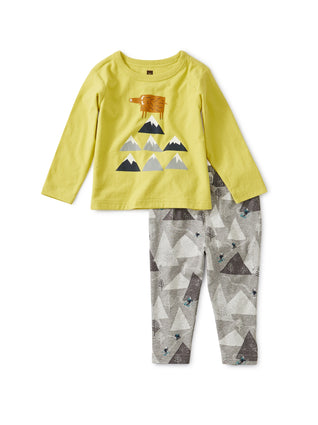 Mountain Baby Set: Lemongrass