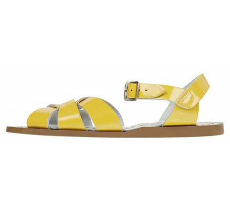Original Salt Water Sandals in Shiny Yellow