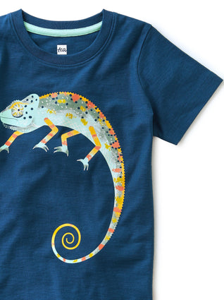 Ascot Blue Cool As A Chameleon Tee
