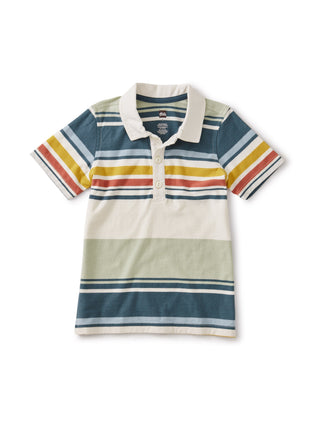 Desert Sage: Striped Polo