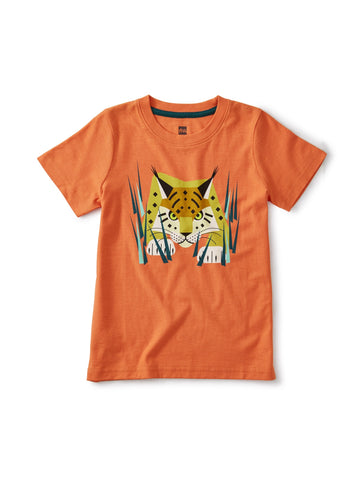 Orange Spice: Lynx Graphic Tee