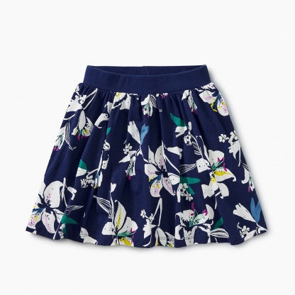 Tropical Lillies Twirl Skort