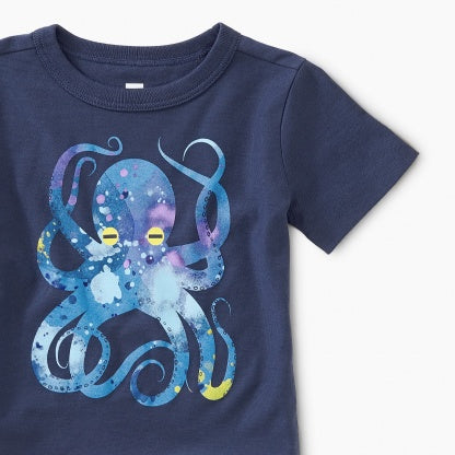 Pop Octopus Baby Graphic Tee