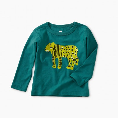 Liger Graphic Baby Tee: Scuba