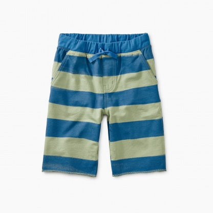 Patterned Cruiser Baby Shorts - Painted Stripe - Brush