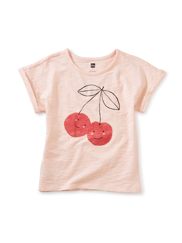 So Very Cherry Graphic Tee: ROSITA