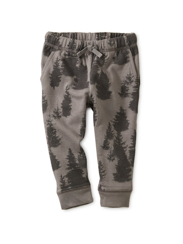 Forest Fleece Baby Joggers: Forest
