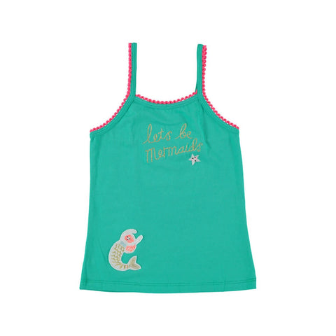 Lets Be Mermaids Tank Top